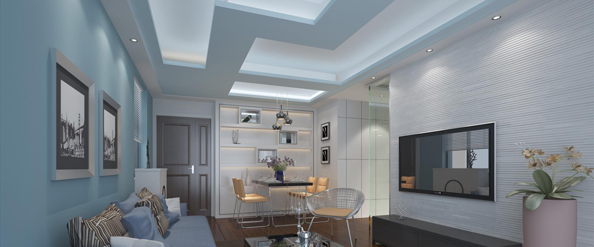 Designer Ceiling - Living Room image
