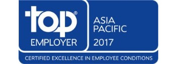 Top Employer Asia Pacific 2017 logo