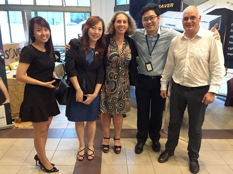 Isover seminar at Institute of Engineers Singapore image #03