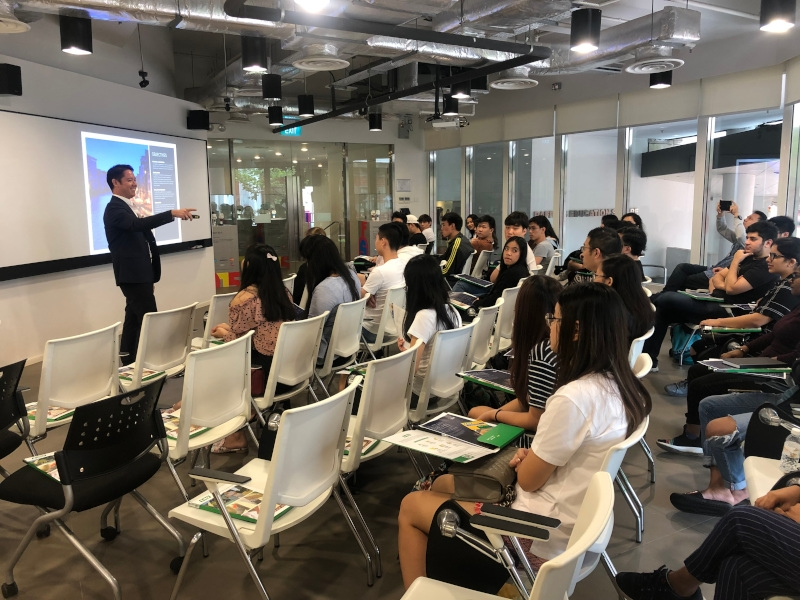 Product seminar at Raffles College of Higher Education image #01