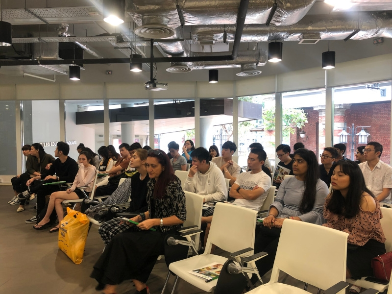 Product seminar at Raffles College of Higher Education image #02