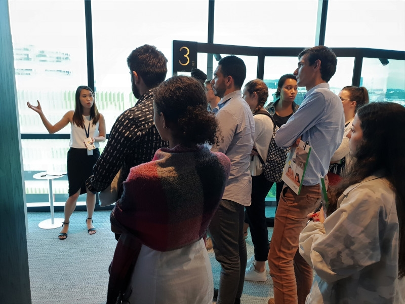 French students visit Saint-Gobain Singapore image #03