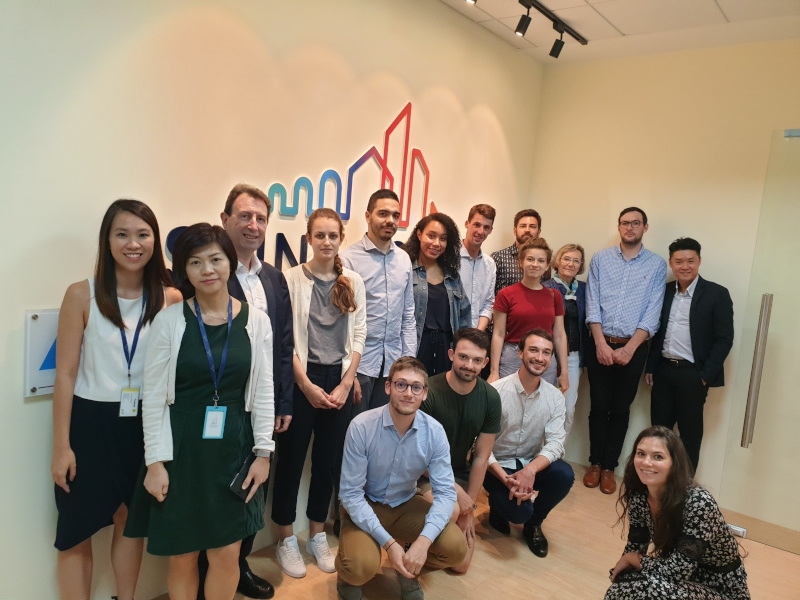 French students visit Saint-Gobain Singapore image #09