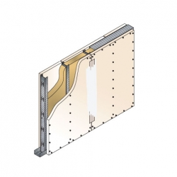 GypWall® ROBUST System sketch