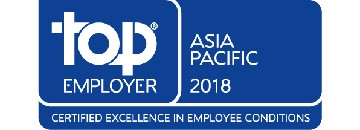 Top Employer Asia Pacific 2018 logo